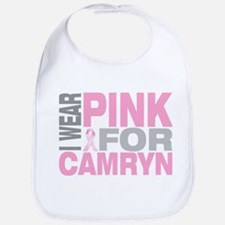 I wear pink for Camryn Bib