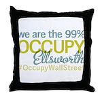 Occupy Ellsworth Throw Pillow