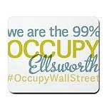 Occupy Ellsworth Mousepad