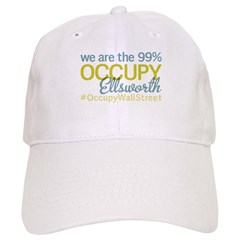 Occupy Ellsworth Baseball Cap
