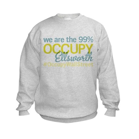 Occupy Ellsworth Kids Sweatshirt