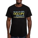 Occupy Ellsworth Men's Fitted T-Shirt (dark)