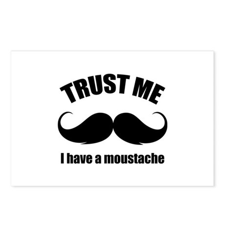 Trust me Postcards (Package of 8)
