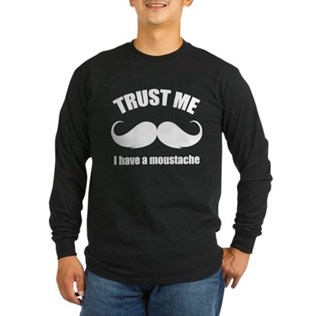 Trust me Long Sleeve Dark T-Shirt