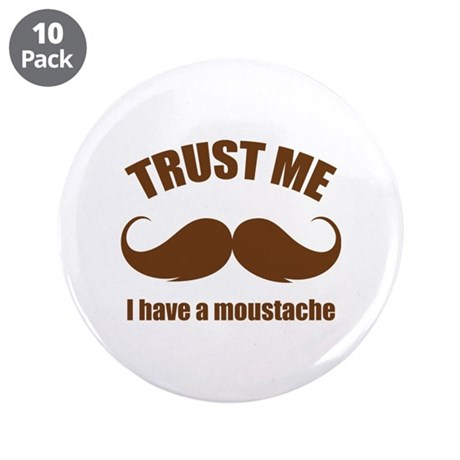 "Trust me 3.5"" Button (10 pack)"
