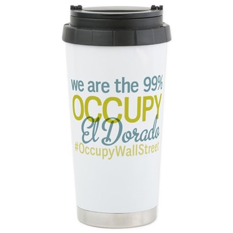 Occupy El Dorado Stainless Steel Travel Mug