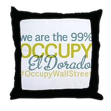 Occupy El Dorado Throw Pillow