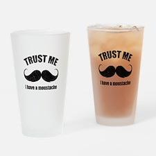 Trust me Drinking Glass