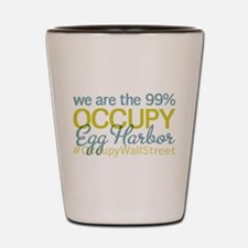 Occupy Egg Harbor Township Shot Glass