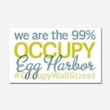 Occupy Egg Harbor Township Car Magnet 20 x 12