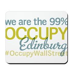 Occupy Edinburg Mousepad