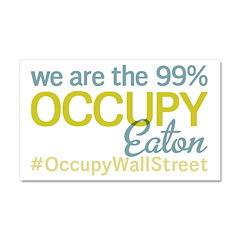 Occupy Eaton Car Magnet 20 x 12