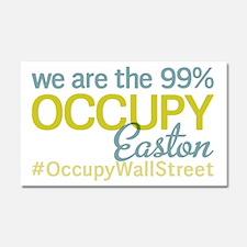 Occupy Easton Car Magnet 20 x 12