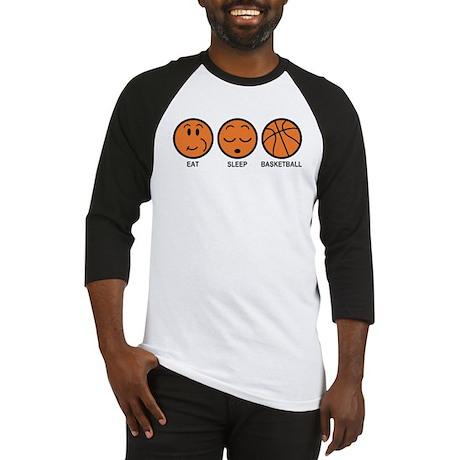 Eat Sleep Basketball Baseball Jersey