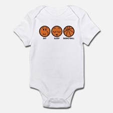 Eat Sleep Basketball Infant Bodysuit