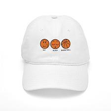Eat Sleep Basketball Baseball Cap