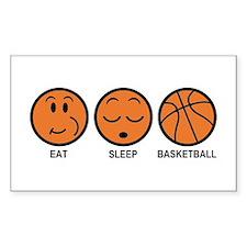 Eat Sleep Basketball Bumper Stickers