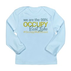 Occupy East lake 37407 Long Sleeve Infant T-Shirt