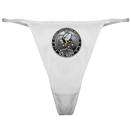 USN Seabees Construction Mech Classic Thong