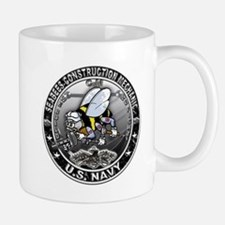 USN Seabees Construction Mech Mug