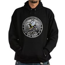 USN Seabees Construction Mech Hoodie