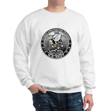 USN Seabees Construction Mech Sweatshirt