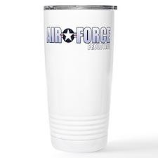 USAF Wife Stainless Steel Travel Mug