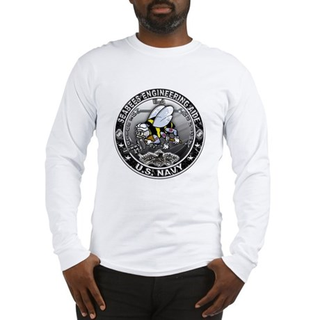 USN Seabees Engineering Aide Long Sleeve T-Shirt