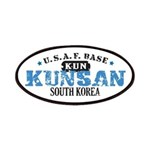 Kunsan Air Force Base Patches