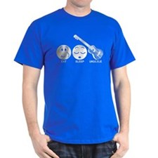 Eat Sleep Ukulele T-Shirt