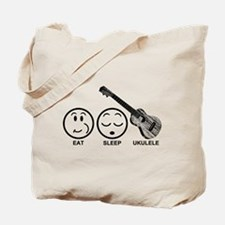Eat Sleep Ukulele Tote Bag