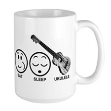 Eat Sleep Ukulele Mug