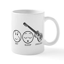 Eat Sleep Ukulele Mug