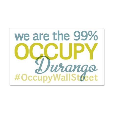 Occupy Durango Car Magnet 20 x 12