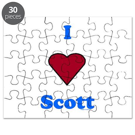 Heart Scott Puzzle
