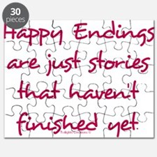 Happy Endings Finished Puzzle