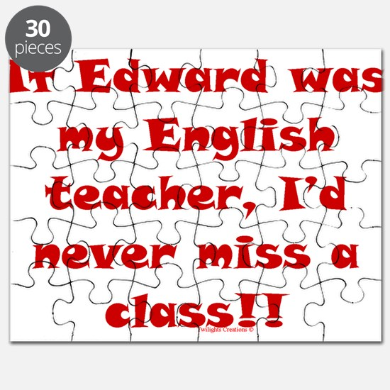 Edward English Teacher Puzzle