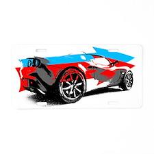Elise Style Aluminum License Plate