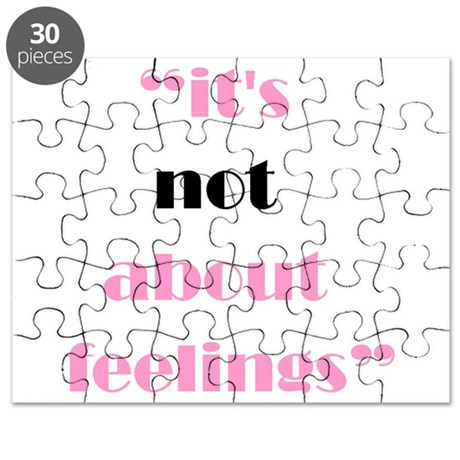 Its Not About Feelings Puzzle