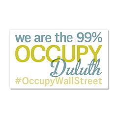 Occupy Duluth Car Magnet 20 x 12