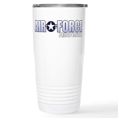USAF Veteran Stainless Steel Travel Mug