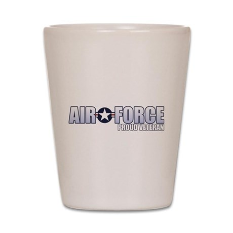 USAF Veteran Shot Glass