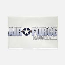 USAF Veteran Rectangle Magnet