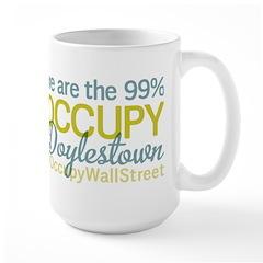 Occupy Doylestown Large Mug