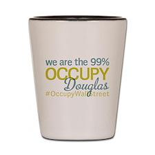 Occupy Douglas Shot Glass