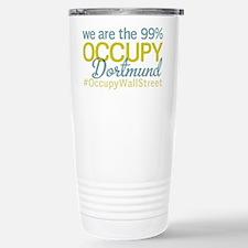 Occupy Dortmund Stainless Steel Travel Mug