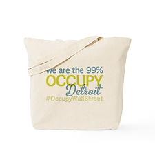 Occupy Detroit Tote Bag