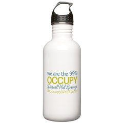 Occupy Desert Hot Springs Water Bottle