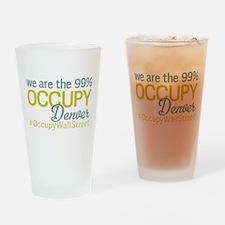 Occupy Denver Drinking Glass