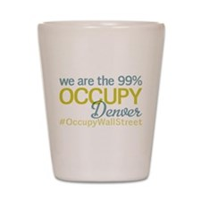 Occupy Denver Shot Glass